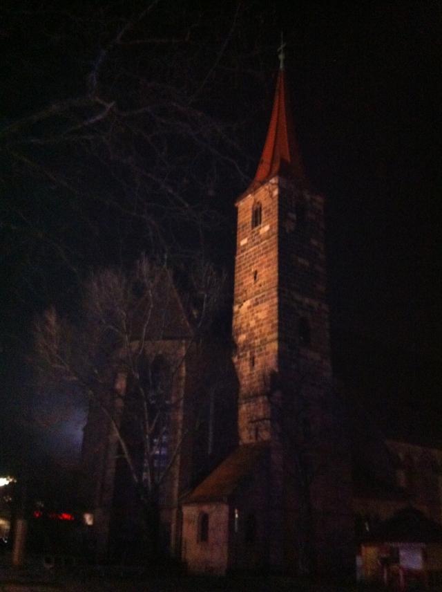 Una de las muchas iglesias del casco antiguo.